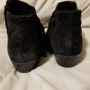Sam Edelman Shoes - Sam Edelman black fringed booties